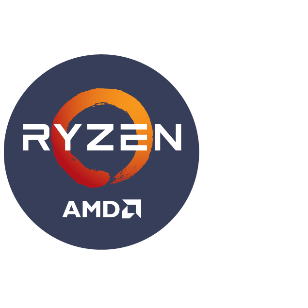 icon circle amd ryzen